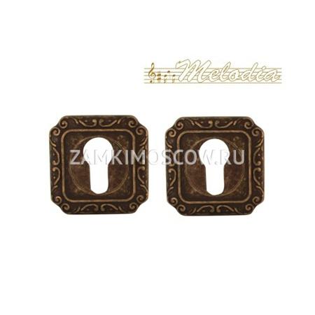 Накладка на цилиндр MELODIA (Италия) 50Q Античная бронза