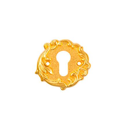 Накладка на цилиндр ADC FURNITURE CL Imperia-Florencia gold