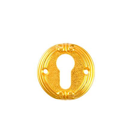 Накладка на цилиндр ADC FURNITURE CL Ferarra gold