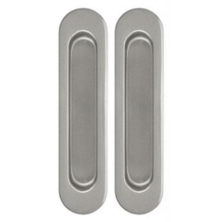 Комплект Дверных Ручек Для Раздвижных Дверей Armadillo SH010-SN-3 Матовый Никель