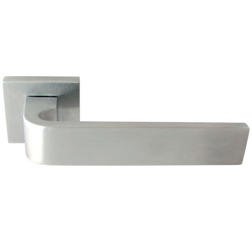 Дверные ручки Forme Monza матовый хром / полированный хром