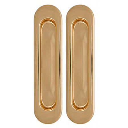 Комплект Дверных Ручек Для Раздвижных Дверей Armadillo SH010-GP-2 Золото