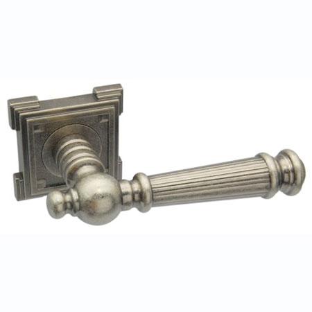 Дверные ручки Adden Bau CASTELLO VQ212 AGED SILVER
