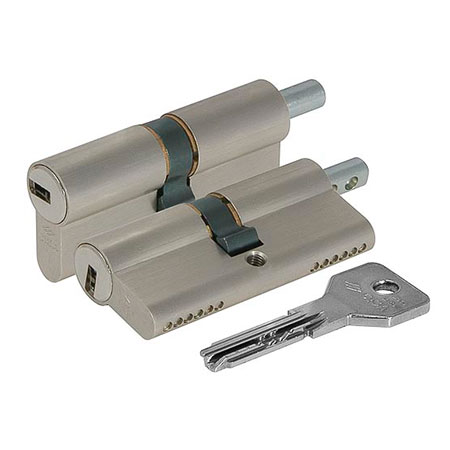 Цилиндр (личинка для замка) CISA ASIX OЕ302.29.0.1200.C5 (90мм/45*45 ключ вертушка)