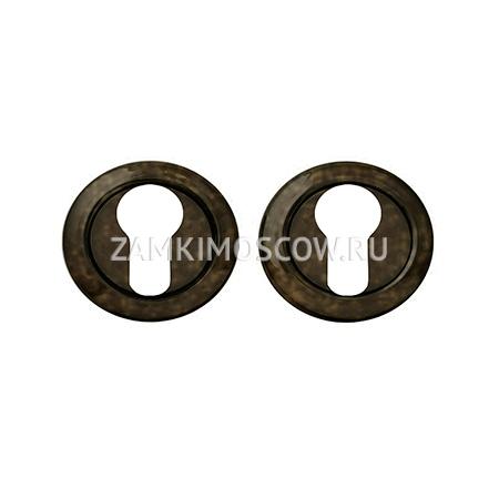 Накладка на цилиндр MELODIA (Италия) 50V античная бронза
