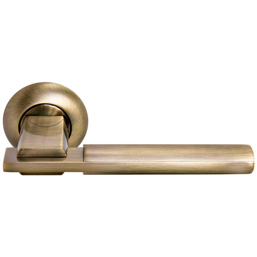 Дверные ручки Morelli Упоение MH-13 MAB/AB матовая античная бронза/античная бронза