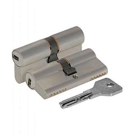 Цилиндр (личинка для замка) CISA ASIX OЕ300.31.0.1200.C5 (85мм/35*50 ключ ключ) никель