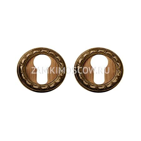 Накладка на цилиндр MELODIA (Италия) 50D матовая бронза