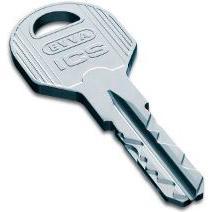 Дубликат ключа для цилиндрового механизма Evva ICS