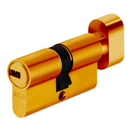 Механизм цилиндровый Abus KD6 35*35 SB ключ-вертушка