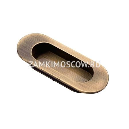 Ручка на раздвижную дверь ARCHIE K02-V0AB (античная бронза)
