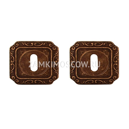 Накладка под ключ MELODIA (Италия) 50Q античная бронза