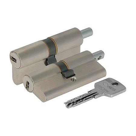 Цилиндр (личинка для замка) CISA ASTRAL OA312.85.0.1200.C5 (80мм 45*35 ключ-вертушка)