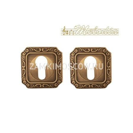 Накладка на цилиндр MELODIA (Италия) 50Q Матовая бронза