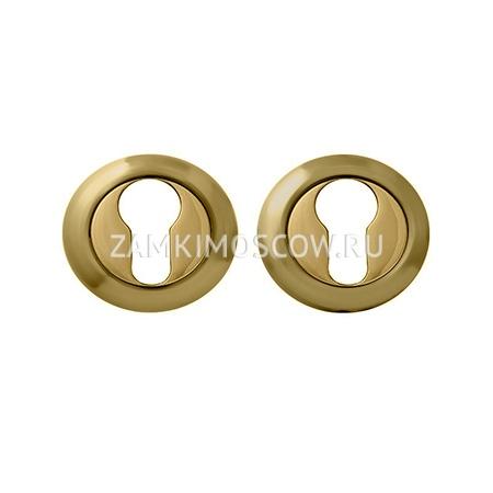 Накладка на цилиндр MELODIA (Италия) 50V французское золото