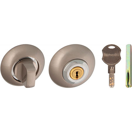 Завертка с ключом Laredo1 ET-BK6 SN-CP никель-хром