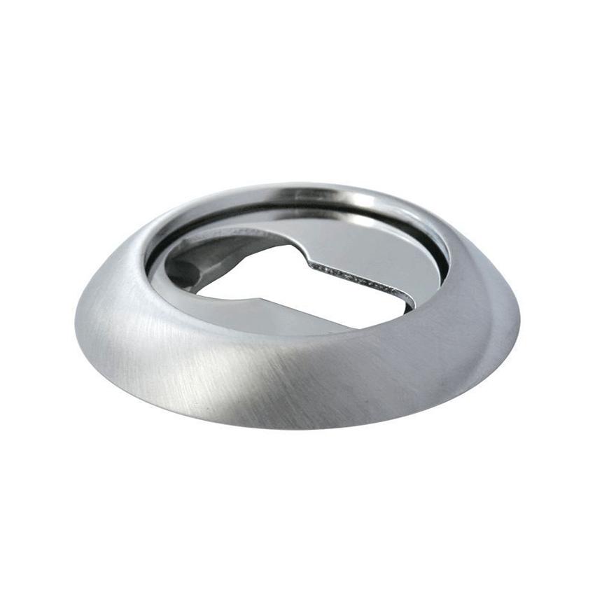 Накладка на цилиндр ARCHIE (Арчи) CL H белый никель