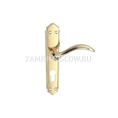 Ручка на планке MSM 610 V PB (золото)