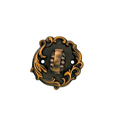 Фиксатор с ручкой ADC BK11 Imperia-Florencia ant.brass