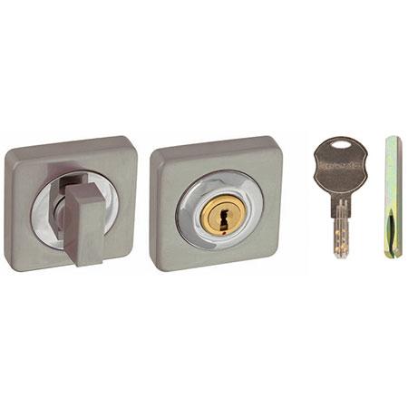 Завертка с ключом Laredo 2 ET-BK6 SG-CP никель-хром