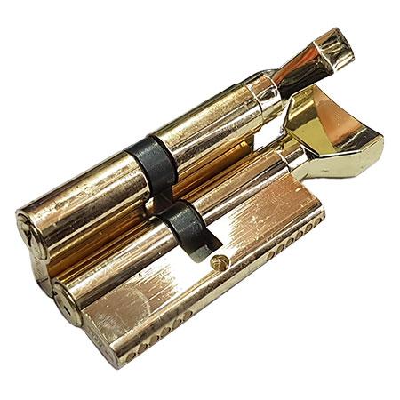 Цилиндровый механизм DAMX NW60 SB 30*30(золото)